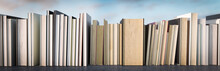 Books In A Row. Education, Bac...