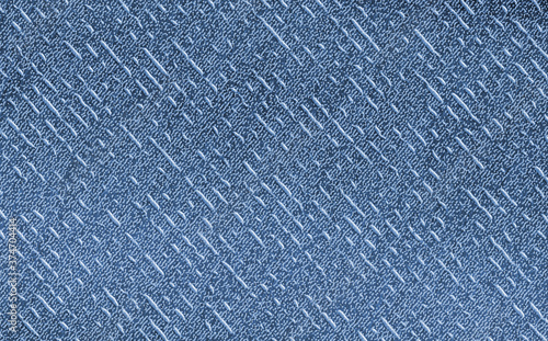 blue colored modern structured background Canvas Print