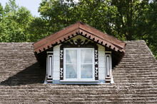 Rustic Cottage House Roof. Roo...
