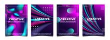 Set Of Trendy Gradient Cover D...