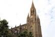 La cathédrale du bon pasteur dans Saint Sébastien vue de l'extérieur, ville de Saint Sébastien, Espagne