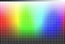 Fundo RGB Em Meio Ponto.