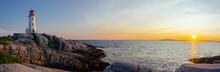 Coucher De Soleil à Peggys Cove