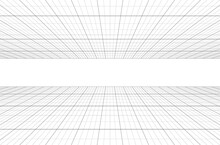 Perspective Grid Background 3d...