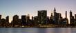 Manhattan Skyline View from The Gantry State Park in LIC