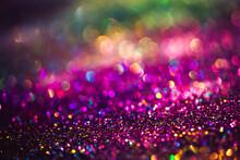 Bokeh Effect Glitter Colorful ...