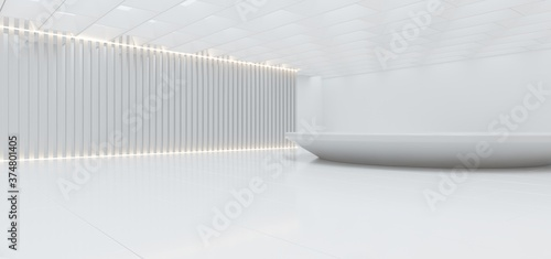 Foto Abstract architectural minimalistic background