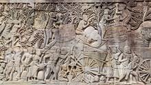 Wall Carving Of Prasat Bayon T...