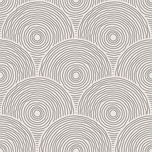Trendy Minimalist Seamless Pattern With Abstract Creative Hand Drawn Composition