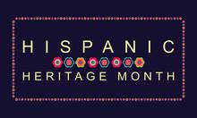 Hispanic Heritage Month Poster...