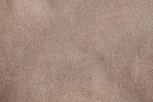 Beige Suede Leather Texture. T...