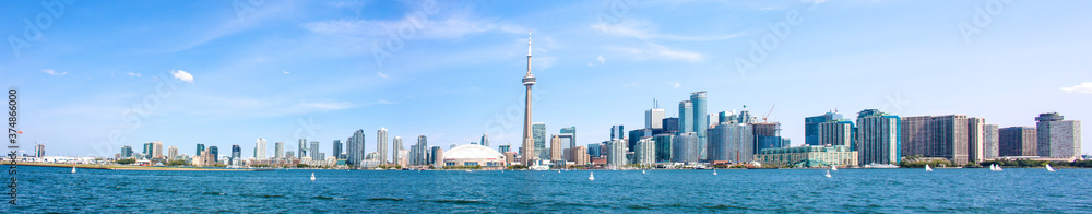 Fototapeta Toronto Skyline Panoramic View Canada