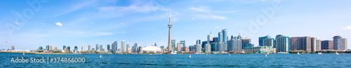 Obraz Toronto Skyline Panoramic View Canada - fototapety do salonu