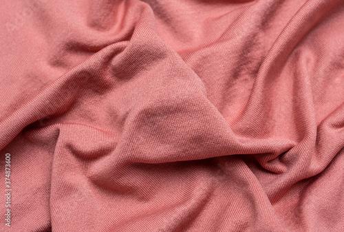 Fotografie, Obraz Sportswear knitted stretch fabric texture