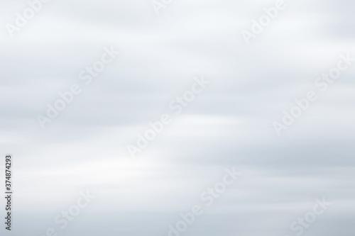 Clouds in motion blur Billede på lærred