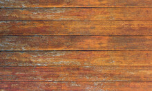 Brown Horizontal Wooden Planks Background Texture
