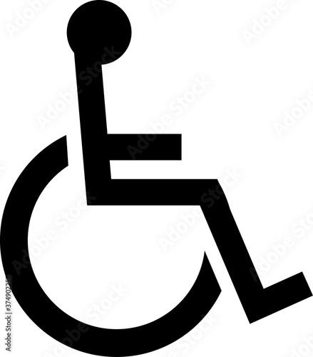 Fényképezés 車椅子のピクトグラム