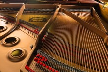 Inside Of The Grand Piano