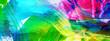 farben abstrakt gewischt malerei kontraste banner