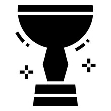 A Cup Or Other Decorative Object Awarded As A Prize For A Victory, World Cup Icon Design