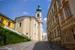 Main church of Trutnov, Czech Republic