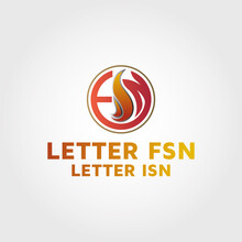 Initial Fsn Logo Images, Stock...