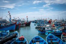Traditional Fishing Boats Moor...