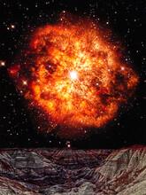 Conceptual Wolf-Rayet Star Ris...
