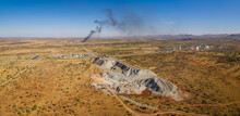 Panoramic Aerial View Of A Pla...