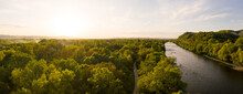 Panoramic Aerial View Of Sava ...