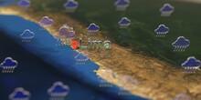 Rainy Weather Icons Near Lima ...