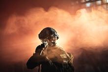 Żołnierz Sił Specjalnych Po...