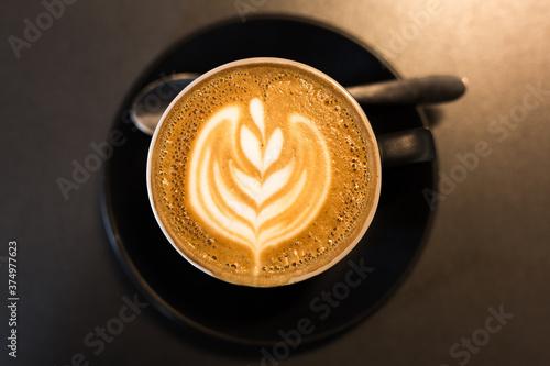 Cup of Cappuccino with Foam Fototapeta