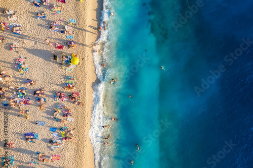 Obraz na plátne Mediterranean sea
