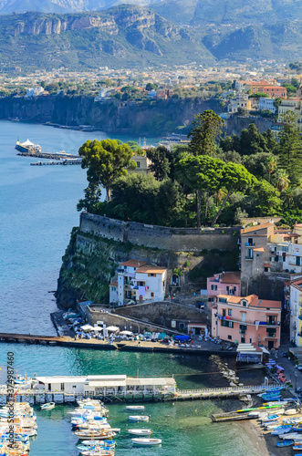Photo Magnificent view of the Amalfi coast. Italy.