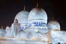 Central Domes Of Sheikh Zayed ...