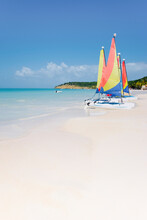 West Indies, Caribbean, Lesser Antilles, Leeward Islands, Antigua And Barbuda, Antigua, Dickenson Bay Beach, The Largest And Most Famous Beach In Antigua