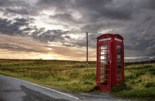 Old Phone Box In The Middle Of...