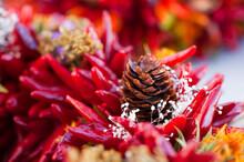 Chili Pepper Winter Wreath