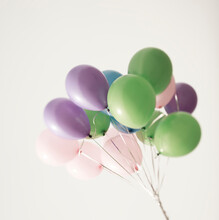 Colored Pastel Balloons