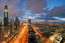 City Skyline View Over Dubai, ...