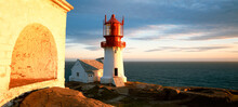 Lindesnes Fyr Lighthouse, On S...