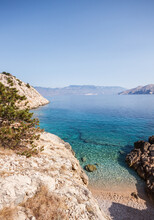 Beautiful Bay With Clear Water