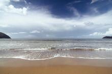 Beach On Italian Coast