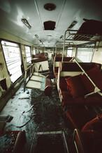 Demolished Train
