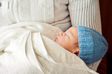 Sleeping Newborn Boy