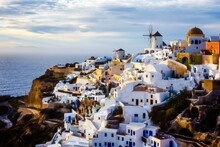 The Village Of Oia In The Isla...