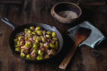 Brussels Sprout And Bacon Salad