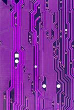 Purple Printed Circuit Board M...