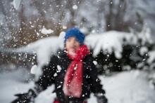 Child Wearing Winter Gear Happ...